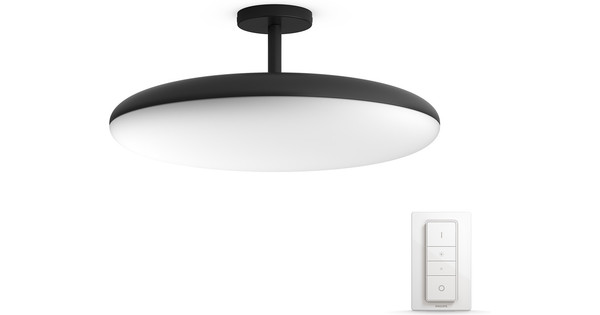 Hue Lampen Coolblue : Philips hue white ambiance cher ceiling lamp with stand coolblue