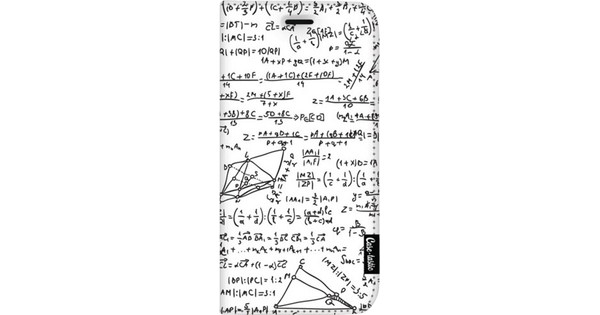 Casetastic Wallet Apple iPhone 8 Plus Book Case You Do The Math White
