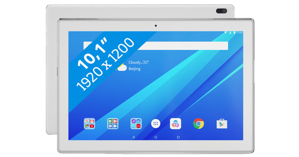 Lenovo Tab 4 10 Plus 3 GB 16 GB Wit