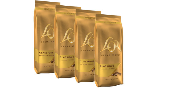 L'OR Crema Absolu coffee beans 2 kg