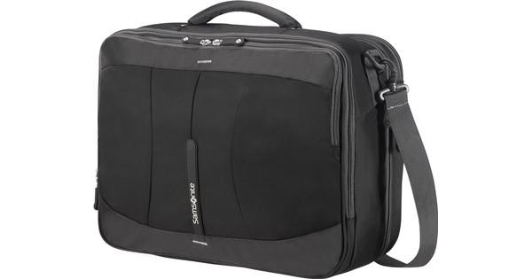 Samsonite 4Mation 3-Way Shoulder Bag Exp Black/Silver