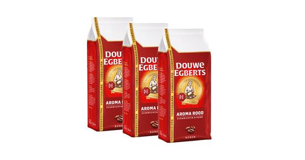 Douwe Egberts Aroma Rood koffiebonen 2,7 kg