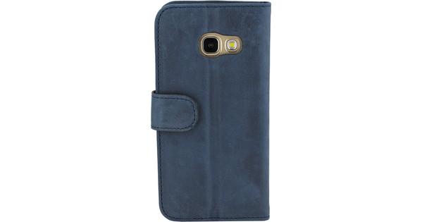 Valenta Classic Luxury Vintage Samsung Galaxy A3 (2017) Book Case Blue