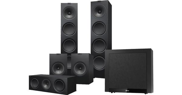 KEF Q950 5.1 Speakerset Zwart