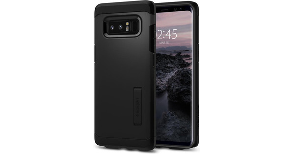 Spigen Tough Armor Samsung Galaxy Note 8 Back Cover Zwart