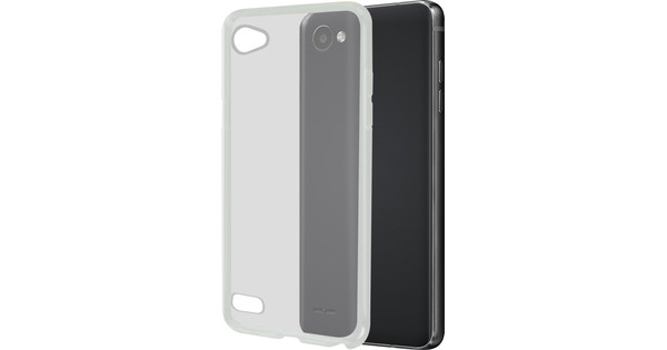Azuri Glossy TPU LG Q6 Back Cover Transparent