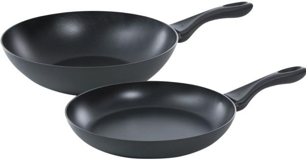 BK Basics Koekenpan en Wok 28 + 28 cm