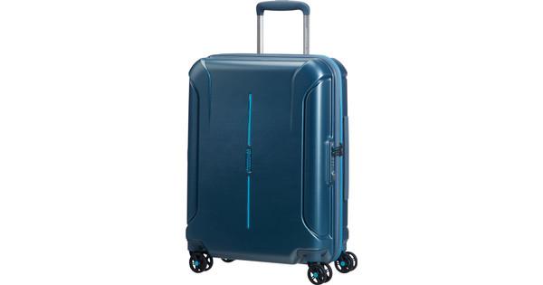 American Tourister Technum Spinner 55cm Metallic Blue