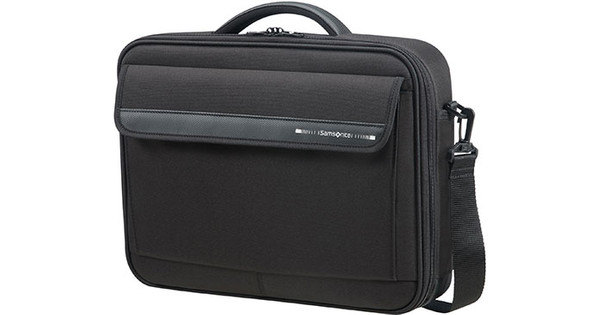 Samsonite 103595 1041 Laptop Classic Schoudertas 15.6 inch Zwart