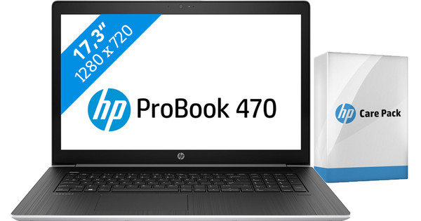 HP ProBook 470 G5 i5-8gb-256ssd + Care Pack