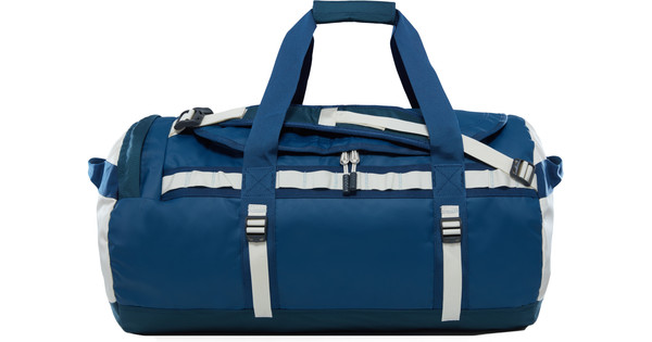 The North Face Base Camp Duffel M Blue Wing/Vintage White