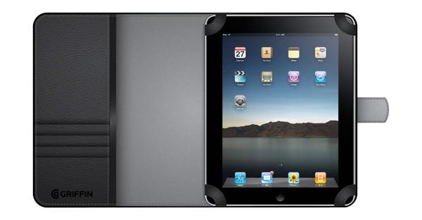 Griffin Elan Passport Sleeve Black Apple iPad