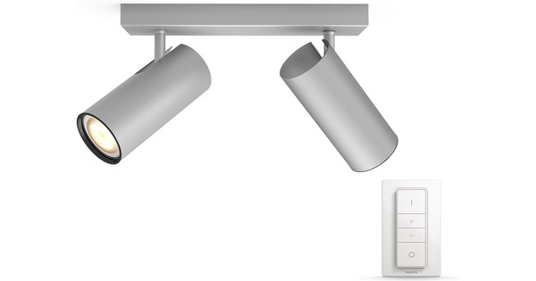 Hue Lampen Coolblue : Philips hue buratto spot gray with dimmer coolblue anything