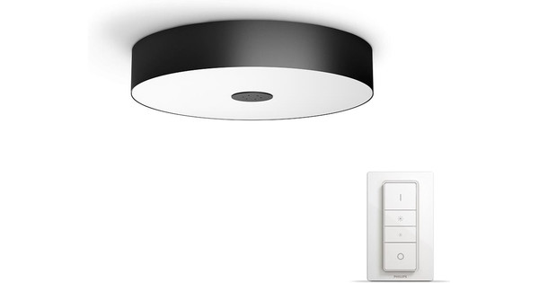 Hue Lampen Coolblue : Philips hue fair ceiling lamp black starter package coolblue