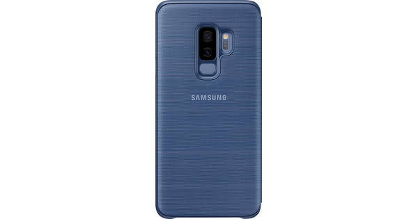 Samsung Galaxy S9 Plus LED View Cover Blue