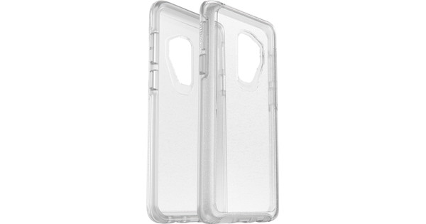 meet 9d7b7 c8bf4 Otterbox Symmetry Clear Stardust Samsung Galaxy S9 Plus Back Cover  Transparent