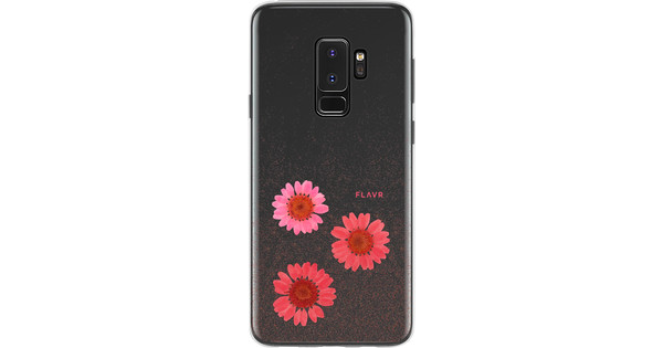 FLAVR iPlate Real Flower Gloria Samsung Galaxy S9 Plus Back Cover