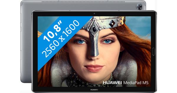 Huawei MediaPad M5 10.8 Wifi + 4G Grijs