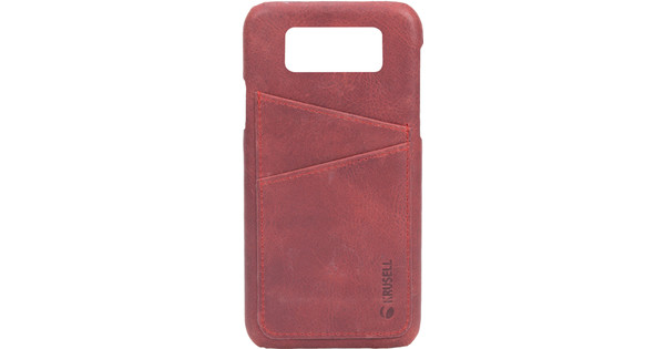 Krusell Sunne Card Samsung Galaxy S9 Back Cover Red