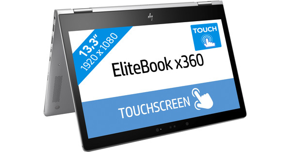 HP Elitebook X360 1030 G2  i5-8gb-256ssd + 4G