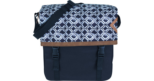 FastRider Double Shopper Bag Kumo Blue