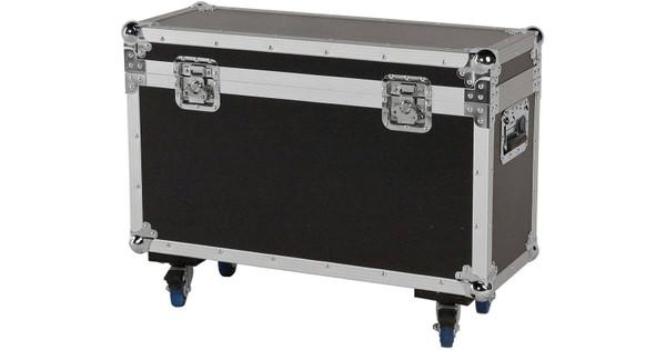 DAP D7495B Flightcase voor 2x Showtec Phantom 25/50/65