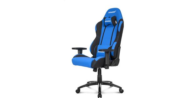 AK Racing Prime Gaming Chair Zwart/Blauw