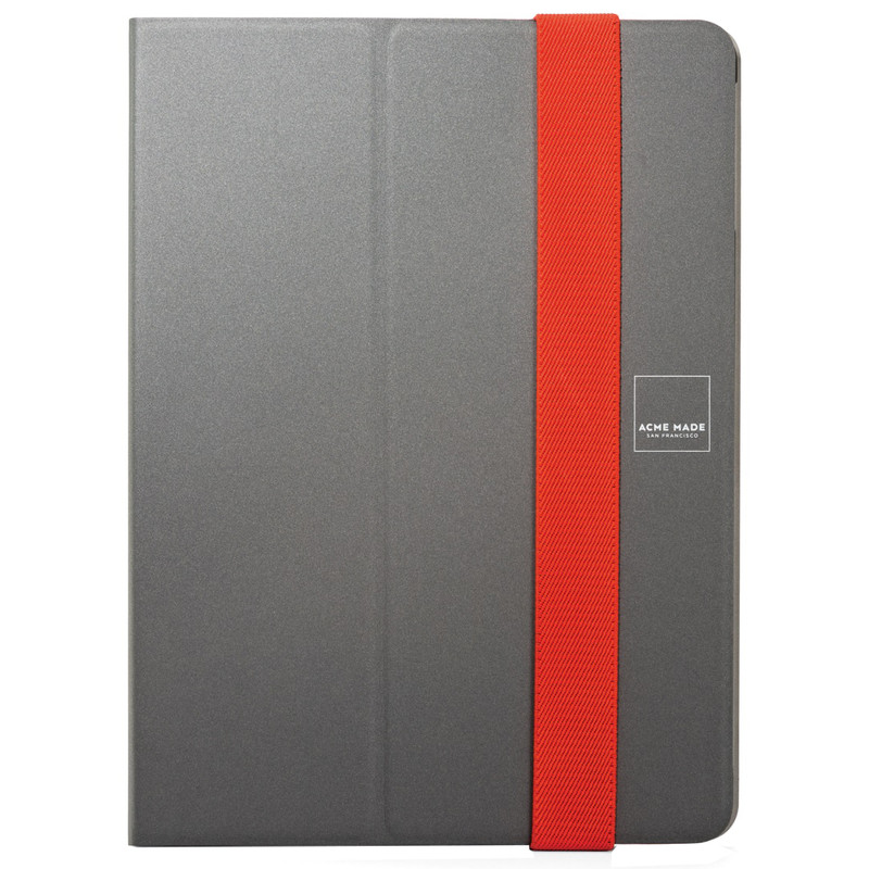 Acme Made Skinny Book iPad Air Grijs/Rood