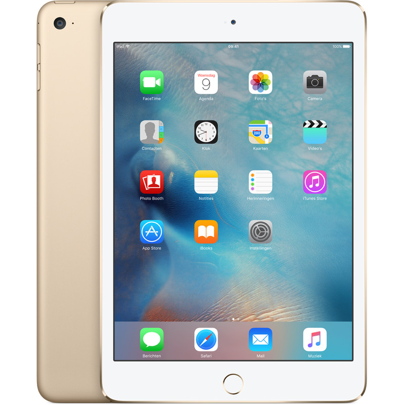 Apple iPad mini 4 Wi-Fi 32GB Gold (MNY32NF-A)
