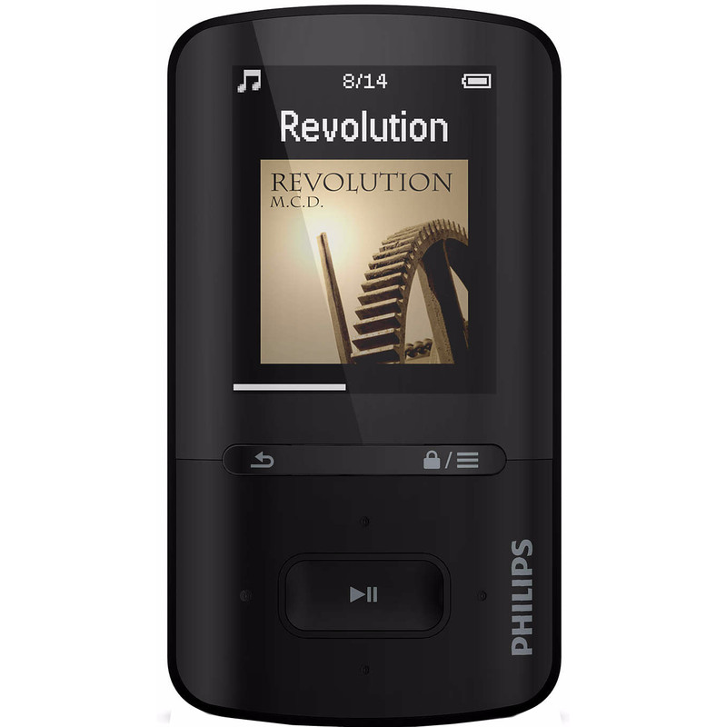 Philips SA4VBE08KN-MP4SPE