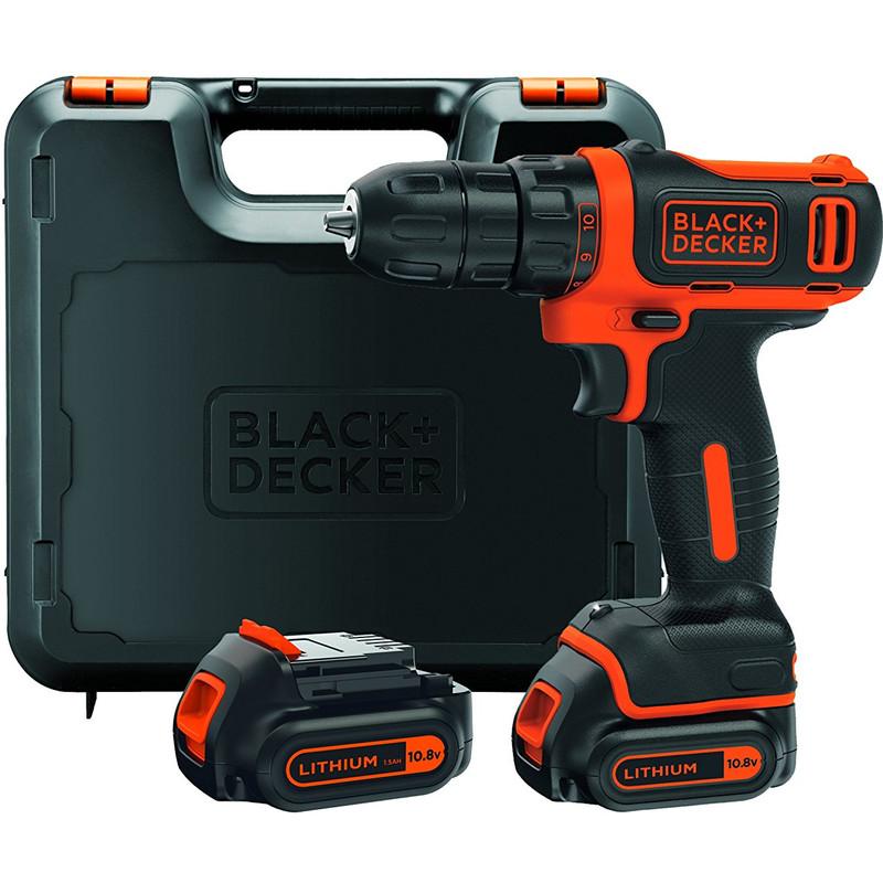 Black+Decker accuschroef--boormachine 10,8V