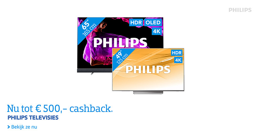 Philips Cashback Korting