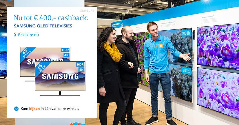 Samsung Televisies Cashback V2