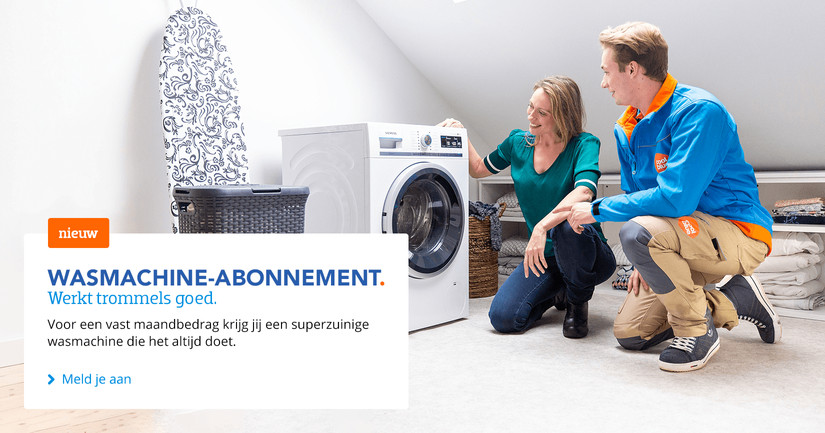 Wasmachines abonnementen