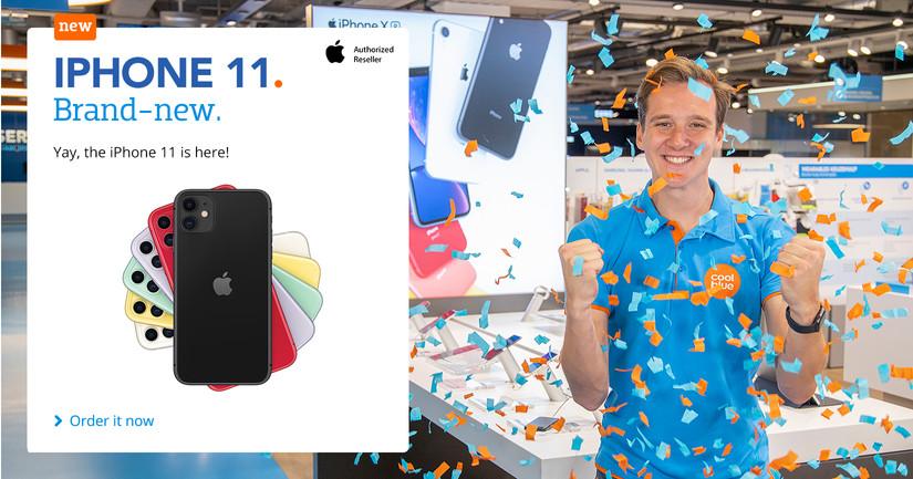 iPhone 11 - Hoera, hij is er EN