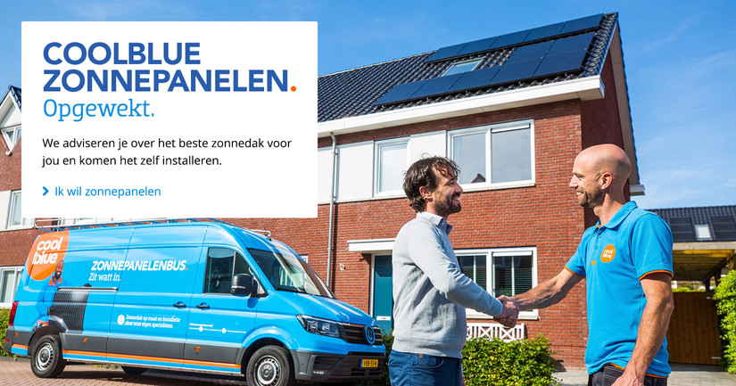Coolblue zonnepanelen
