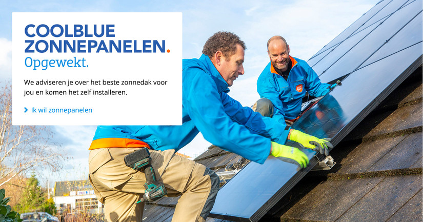 Coolblue zonnepanelen V2