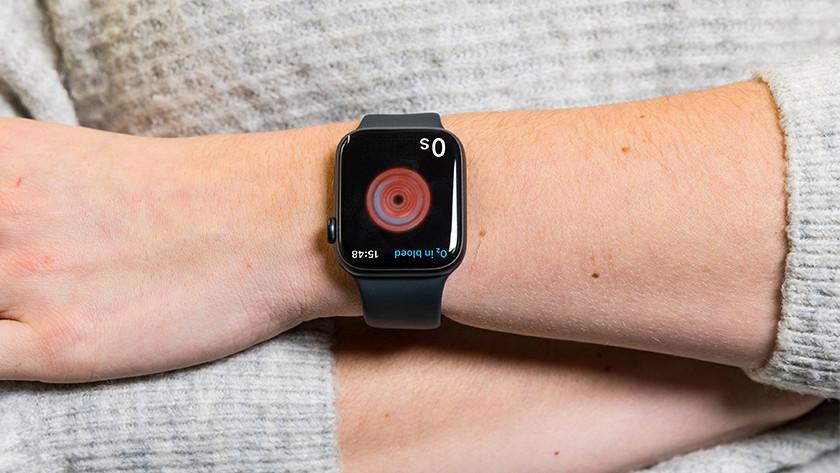 Apple Watch Series 6 saturatiemeting