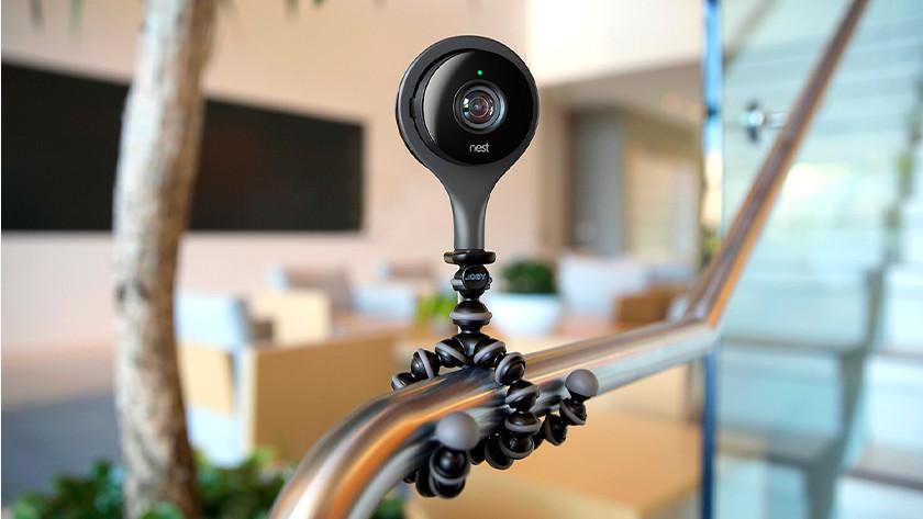 Camera met maandelijkse abonnementskosten