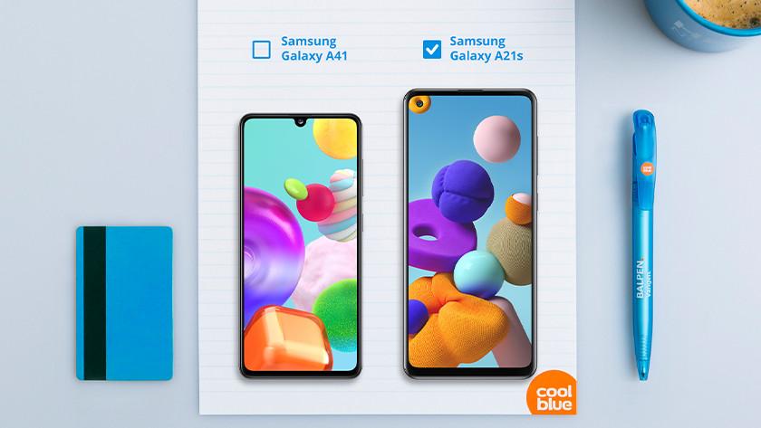 Samsung A21s of A41 scherm