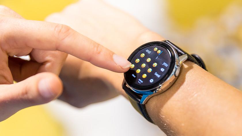 Bericht versturen smartwatch