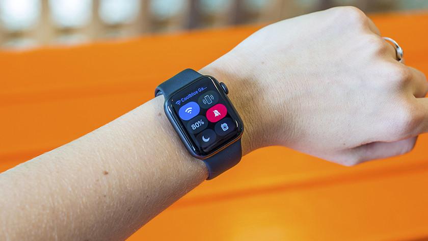 Aan de slag met de icoontjes op Apple Watch