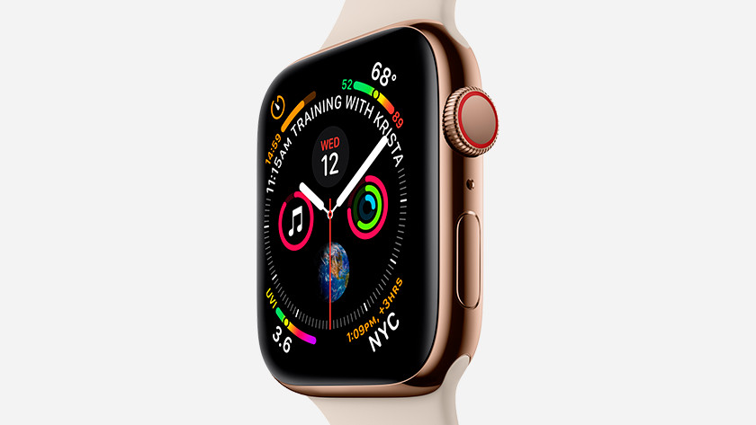 Apple Watch hele dag om
