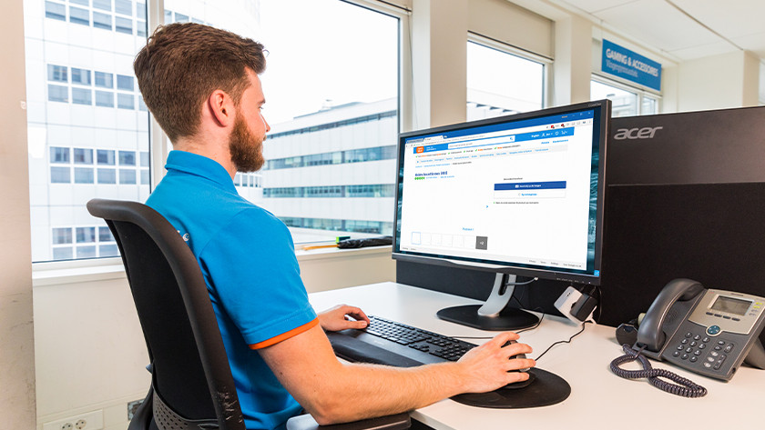 Hoe stel je een monitor ergonomisch in