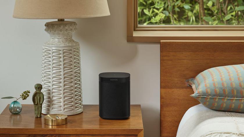 Wifi speaker slaapkamer