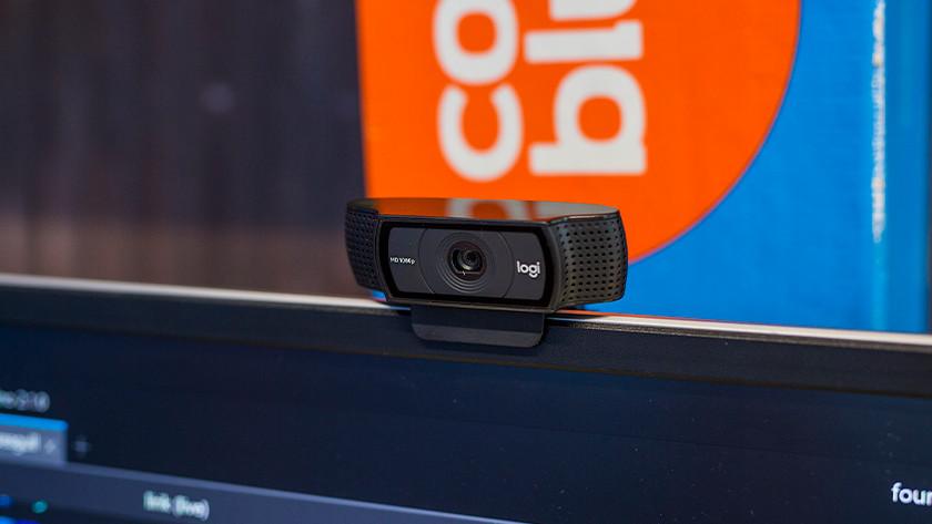 De webcam