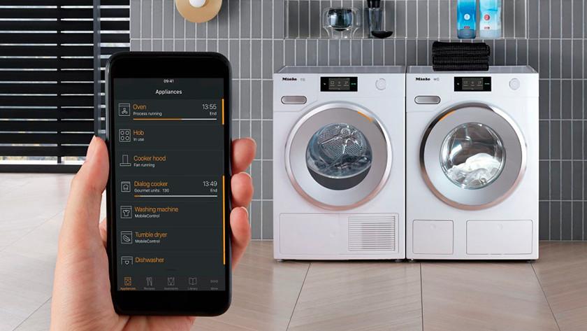 Miele wasmachine met wifi