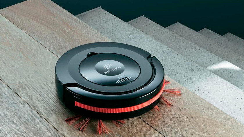 Cleaning route of a robot vacuum