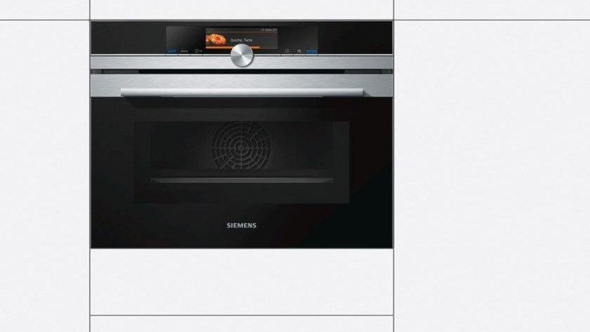 Combi oven in een keuken