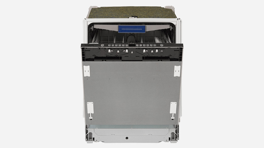 Dishwasher without top